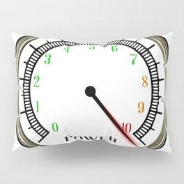Power Meter Pillow Sham