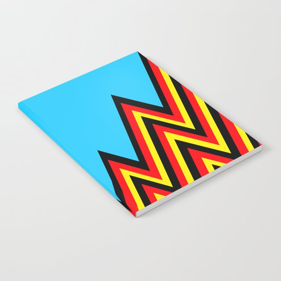 Black And Red And Yellow......And Blue Notebook