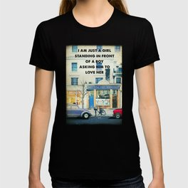 Notting Hill travel movie art T-shirt