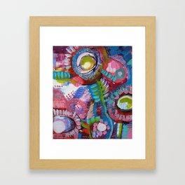 Les Droseras (série Au jardin) Framed Art Print