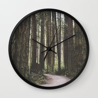 vancouver Wall Clocks featuring Vancouver by Tasha Marie