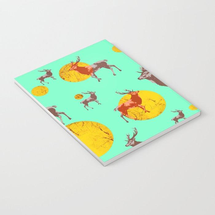 dear deers - christmas Notebook