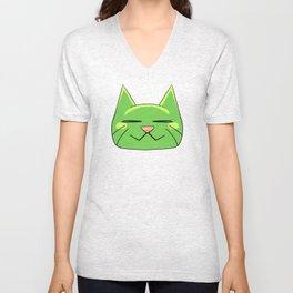 Neko Cat Unisex V-Neck