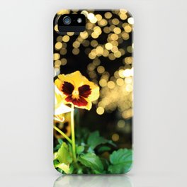 Flower of the Night iPhone Case