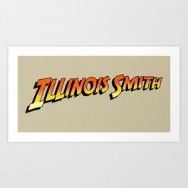 Illinois Smith Art Print