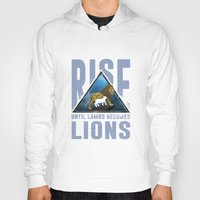 lions Hoodies featuring Rise Lions  by Ryan Chan