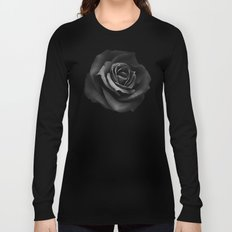 Fabric Rose Long Sleeve T-shirt