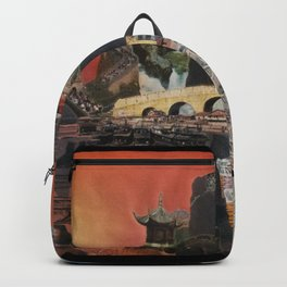 Tibetan Montage 1984 Backpack