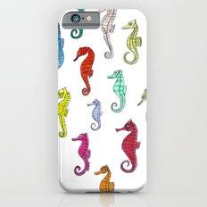 seahorses under the color Slim Case iPhone 6s