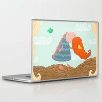 beard Laptop & iPad Skins featuring Beard by Loezelot
