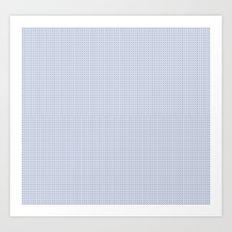 Blue Heroin Art Print