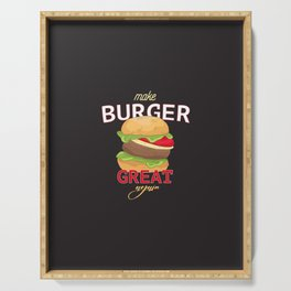 Make Burger great again Serving Tray