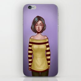 cecile iPhone Skin