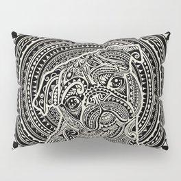 Polynesian Pug Pillow Sham