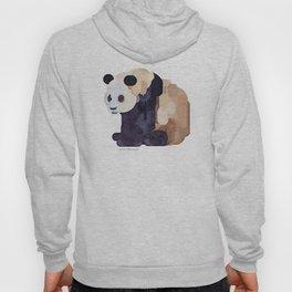 Ice Cream Panda Bear #2 Watercolor Painting Hoody
