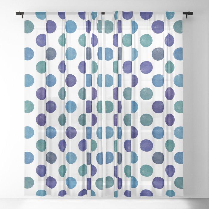 Dots #3 Sheer Curtain