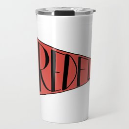 Red Flag Travel Mug