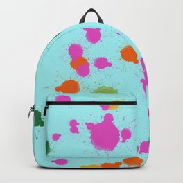 Splash on the wall Backpack