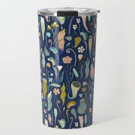 Fool's Paradise [dark blue] Travel Mug