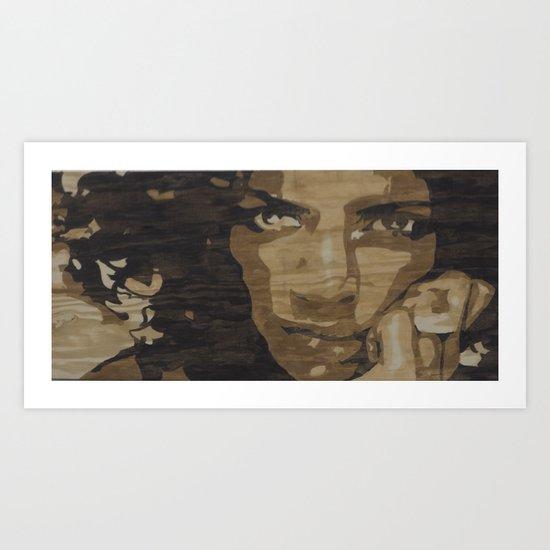 Noemi Art Print