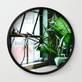 Urban Tropics Wall Clock