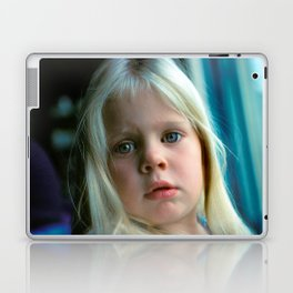 Deep Into The Eyes of a Child Laptop & iPad Skin