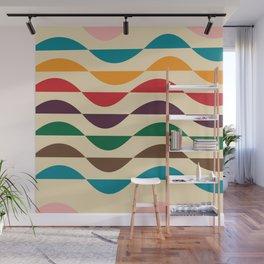 Summer waves Wall Mural