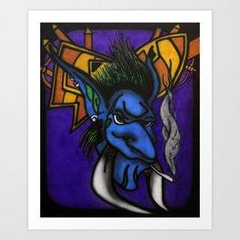 Horde Troll Art Print