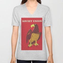 Soviet Union Unisex V-Neck