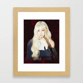 Blackpink - Kill This Love - Jennie Fanart Framed Art Print