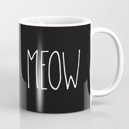 Meow Coffee Mug