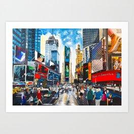 New York, Times Square Art Print