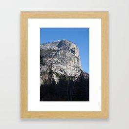 Rocky Mountain in the Sunshine Framed Art Print