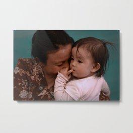 Mother-Daughter Metal Print