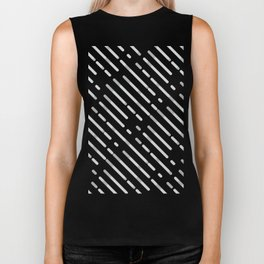 Gray Abstract geometric background #society6 #decor #buyart #artprint Biker Tank