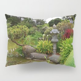 Japanese Garden Lantern Pillow Sham