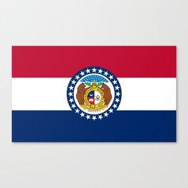 Missouri State Flag Canvas Print