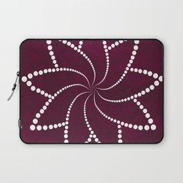 Zen Floral Mandala Laptop Sleeve
