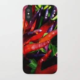 Rainbow Peppers iPhone Case