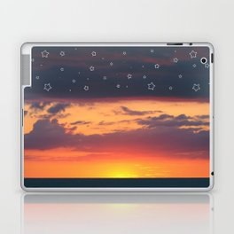 Florida Sunset - Stars Laptop & iPad Skin