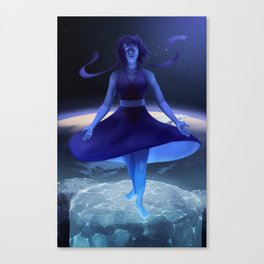 The Water Witch (Lapis Lazuli) Canvas Print