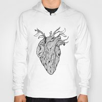 wooden Hoodies featuring Wooden Heart by tvfer
