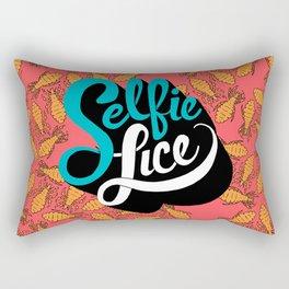 Selfie Lice Rectangular Pillow