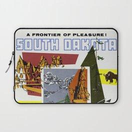 Vintage South Dakota Travel Laptop Sleeve