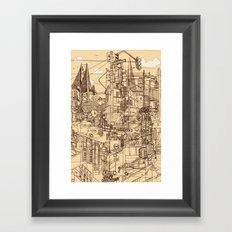 San Francisco! (Dusty) Framed Art Print