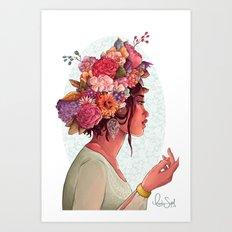 Persephone Art Print