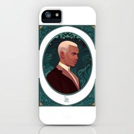 art nouveau portrait 3 iPhone Case