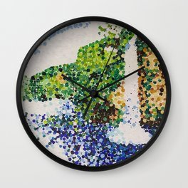 Waterfall At a Distance Wall Clock