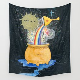 Chaos soup Wall Tapestry