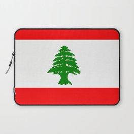 Flag of Lebanon Laptop Sleeve